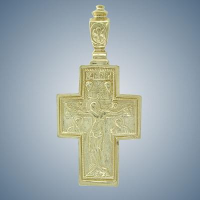 Крест с барельефом